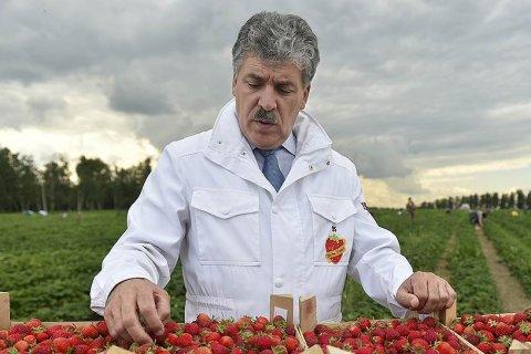 Павел Грудинин: Сельское хозяйство финансируется по остаточному принципу