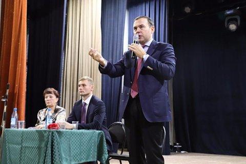 Юрий Афонин: На Хакасию сегодня смотрит вся Россия