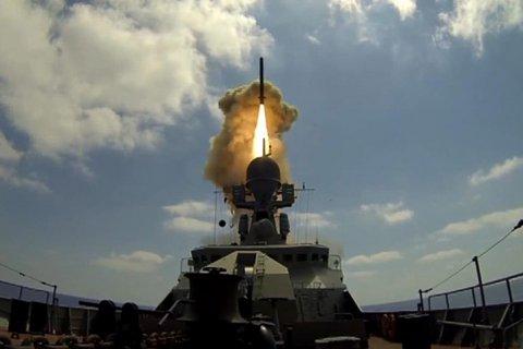 ВМФ России ударил крылатыми ракетами по объектам ИГ в районе Пальмиры