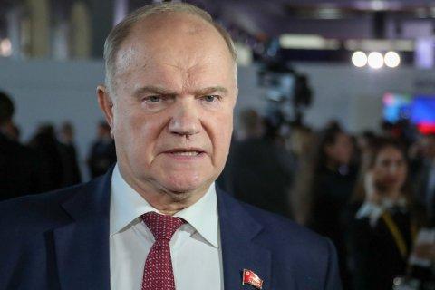 Геннадий Зюганов потребовал от прокуратуры проверить «преступный сговор» по двойному голосованию